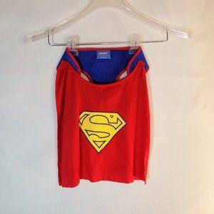 DC Comics Superman Dog Harness Detachable Cape NEW